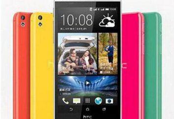 HTC Desire 816: commentaires, photos, prix et caractéristiques