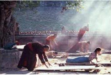 """5 exercícios tibetanos. A prática de """"Cinco pérolas tibetanos"""""""