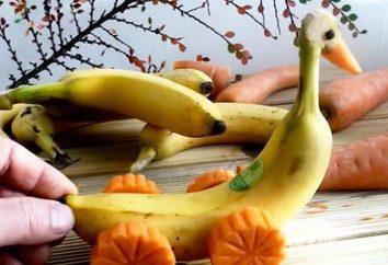 Artículos de plátanos con sus manos: una clase magistral, descripción e ideas interesantes