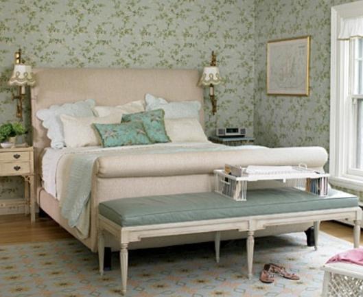 camere da letto interni in stile provenzale - fascino francese