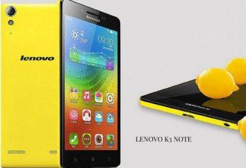 Smartfon Lenovo K3 Uwaga: Opinie z właścicieli, opisy, specyfikacje i przeglądu