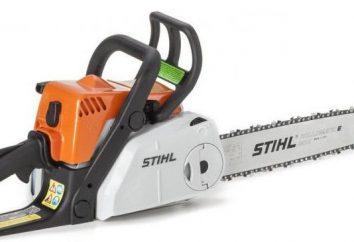 Chainsaw MS 180 Stihl. Descrizione, caratteristiche e recensioni