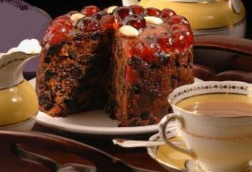 Gâteau traditionnel de Noël Anglais: recette avec une photo