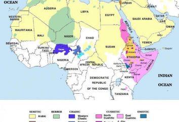 Una delle principali lingue africane. lingua africana Famous