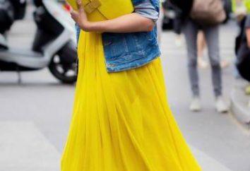 Da cosa indossare sacchetto giallo in estate?