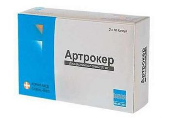 """Medicine """"Artroker"""": analoghi, l'istruzione, descrizione delle opinioni di droga"""