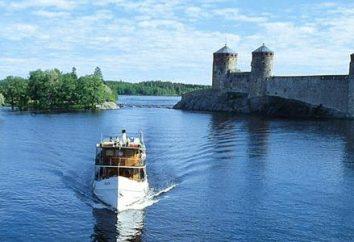 """Savonlinna (Finlandia) – un locale """"Venezia"""" e il centro culturale del paese"""