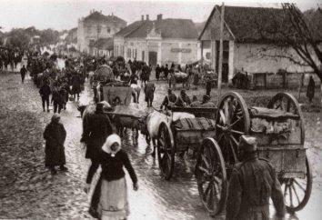 frente oriental. Rússia na Primeira Guerra Mundial