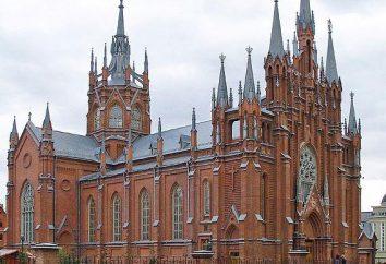La Chiesa cattolica a Mosca (foto)