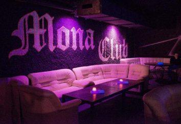 """Music club """"Mona"""": revisão, descrição, endereço e depoimentos de visitantes"""