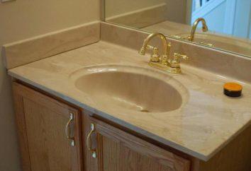 Zlew w łazience z blatów: Opis, rodzaje, właściwości, zalety i opinie