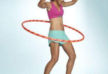 Hoop hulahup: recensioni, raccomandazioni, esercizi di base