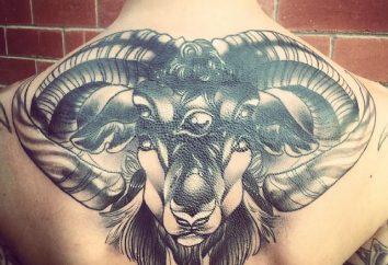 """Tatuaż """"Baran"""" – wybór zaangażowania i wytrwałości"""