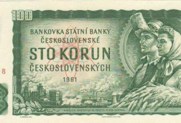 valuta slovacca. segni di denaro dello Stato nei diversi periodi storici