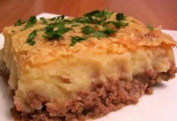 Wie Kartoffelauflauf mit Hackfleisch oder in Dosen Fisch kochen?