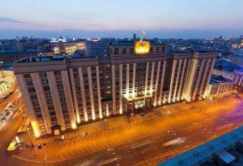 RF Duma di Stato: i poteri e le funzioni. RF Duma di Stato – è …