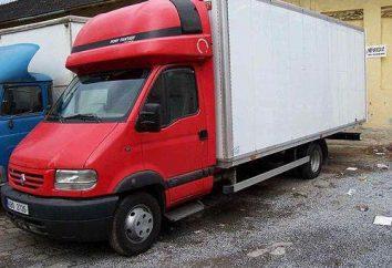 """camion français Renault Mascott ( """"Renault Mascot""""): spécifications, emballage, commentaires"""
