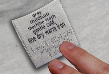 La etiqueta en la ropa: la información, la prolongación de la vida útil de su armario
