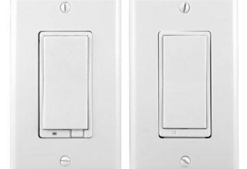 Przechodząc switch – schemat połączeń. Podłączanie tuleję przełącza Legrand