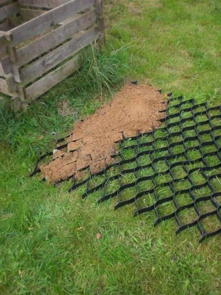 grille de jardin en plastique: types, caractéristiques et ...