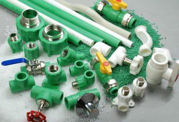 Wie praktisch Polypropylen? Fittings und Rohre aus Polypropylen