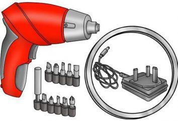 Cacciavite riproduzione su batterie al litio: istruzione