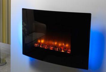 Kominek elektryczny z efektem płomienia. Rodzaje, charakterystyka i opis