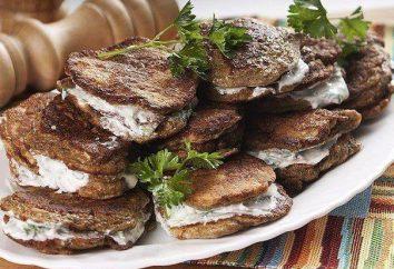 galettes hépatiques à partir de foie de porc: recette