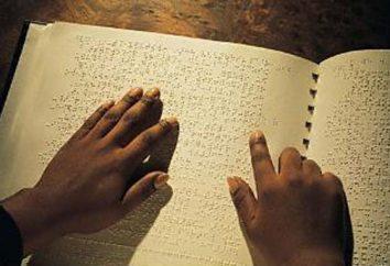 Braille – alphabet Braille