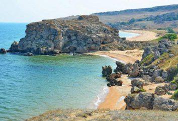 As praias de gerais (Crimeia), onde a descrição, viajantes comentários