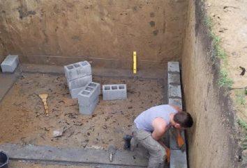 Piwnica w kraju własnymi rękami w krokach (instrukcje ze zdjęciami)
