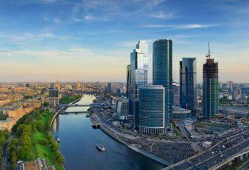 La ubicación y las coordenadas de la capital rusa. La amplitud geográfica de Moscú
