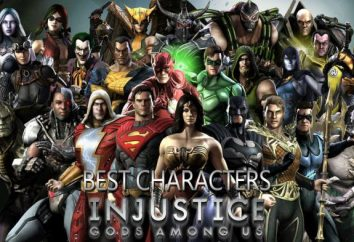Nuovi Dei personaggi Injustice Among Us