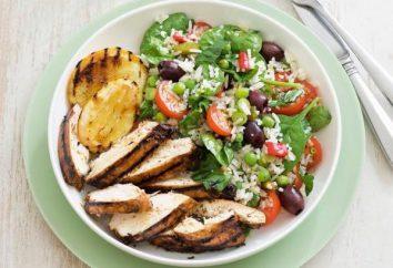 Poitrine de poulet avec du riz: recettes pour tous les jours et les vacances