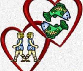 Gemini-mężczyzna, Ryby-kobieta: romantyczna relacja