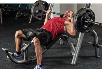 Ćwiczenia na mięśni piersiowych w siłowni. Ćwiczenia na mięśnie klatki piersiowej pompowania