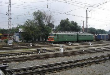 locomotora eléctrica VL-80: características, distribución y explotación de