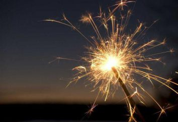 Come fare uno sparkler a casa: la composizione e la tecnologia
