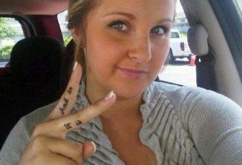 Cosa fanno i tatuaggi sulle dita?
