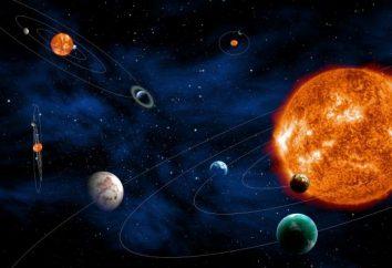 Numeri interessanti di spazio, gli astronauti e pianeti