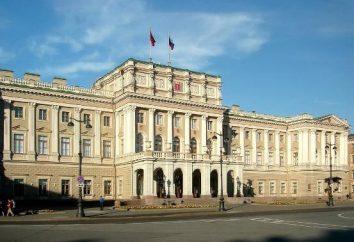 Mariinsky Palace, San Pietroburgo. Attrazioni St. Petersburg