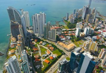 Symbole des Zustandes von Panama. Die Flagge und seine Geschichte