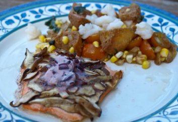 Rosa salmone al forno con funghi: un passo per passo la ricetta