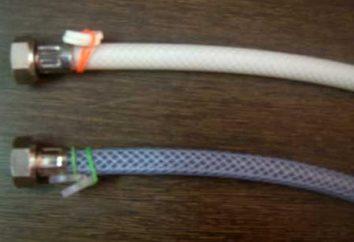 Comme la liaison est de tuyaux en matière plastique