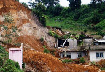 ¿Qué es un corrimiento de tierras: definición, causas, consecuencias