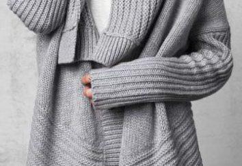 Modello Cardigan – come cucire cosa alla moda per un paio d'ore
