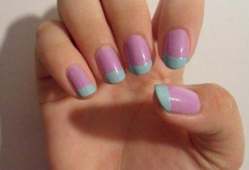 giacca lilla: foto disegno del manicure