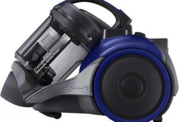 Comment choisir un aspirateur sans sac de poussière « Samsung »: avis, photos
