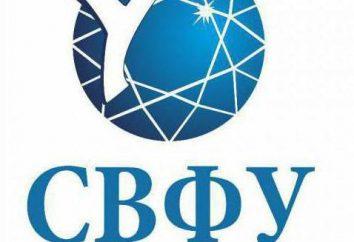 Noreste de la Universidad Federal de M. K. Ammosova (Nefu): dirección, departamentos, sucursales