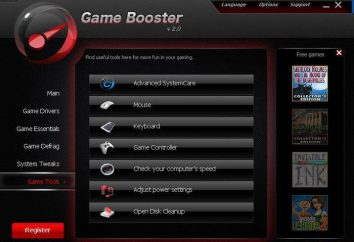 Programa para acelerar juegos: optimizar automáticamente la PC